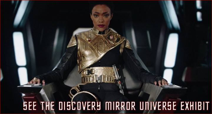 Star Trek: Discovery Mirror Universe Exhibit