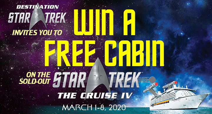 Win a cabin on the next Star Trek Cruise